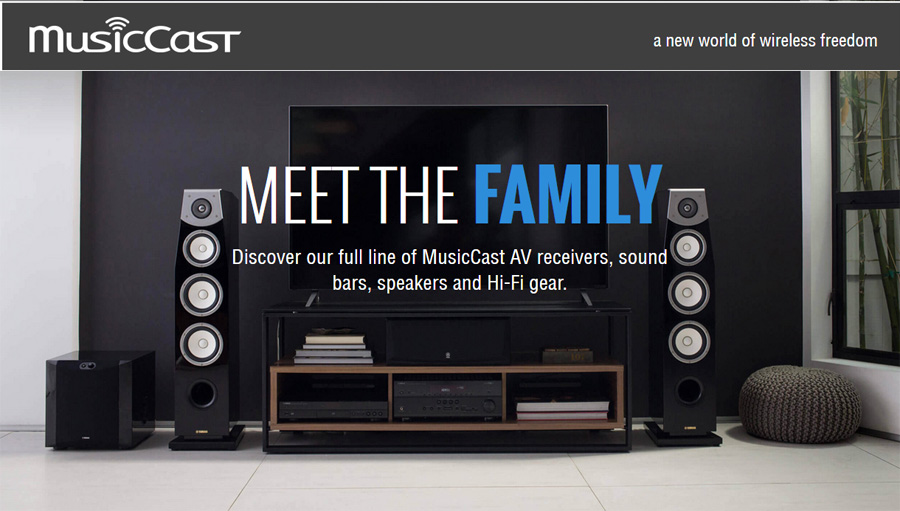 Yamaha musiccast wireless music system revolutionizes whole home yamahas musiccast wireless music system fandeluxe Image collections