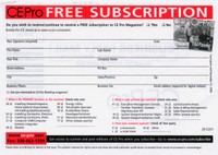 CE Pro Free subscriptions