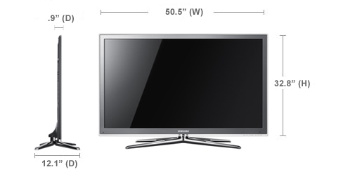samsung un55c8000 55 1080p led 3d hdtv preview audioholics. Black Bedroom Furniture Sets. Home Design Ideas