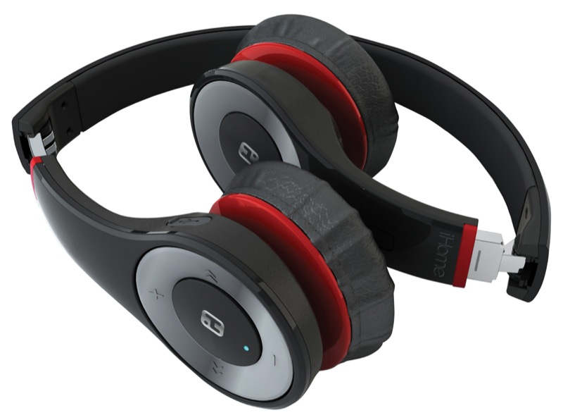 ihome ib85 bluetooth wireless foldable headphones preview. Black Bedroom Furniture Sets. Home Design Ideas