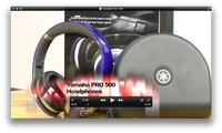 Yamaha Pro 500 Headphones Video