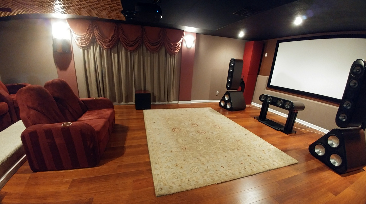 Audioholics Hometheater Room