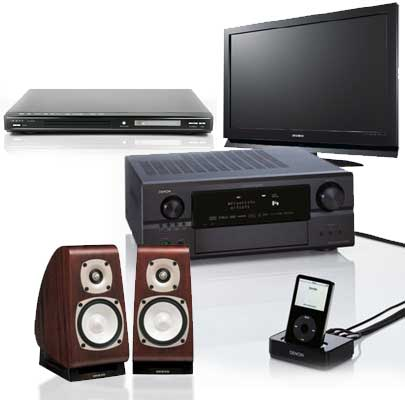 how to set up for home audio