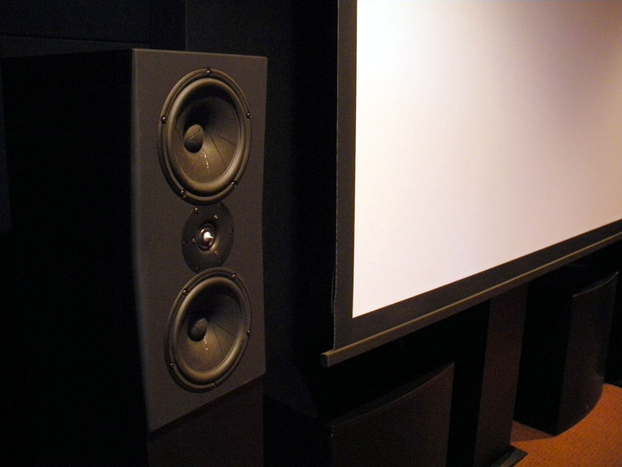 home theater front speakers. optimizing front lcr speaker placement, configuration and performance | audioholics home theater speakers
