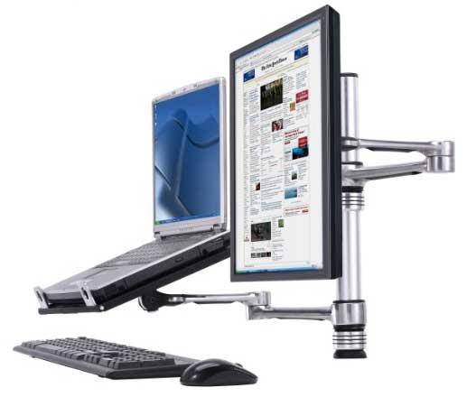 Atdec Visidec Vf At Nbc Dual Laptop Monitor Mount Review