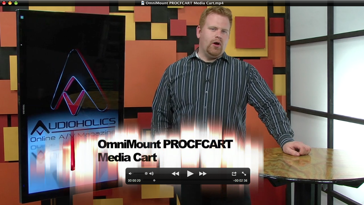 OmniMount+PROCFCART+Media+Cart+Review