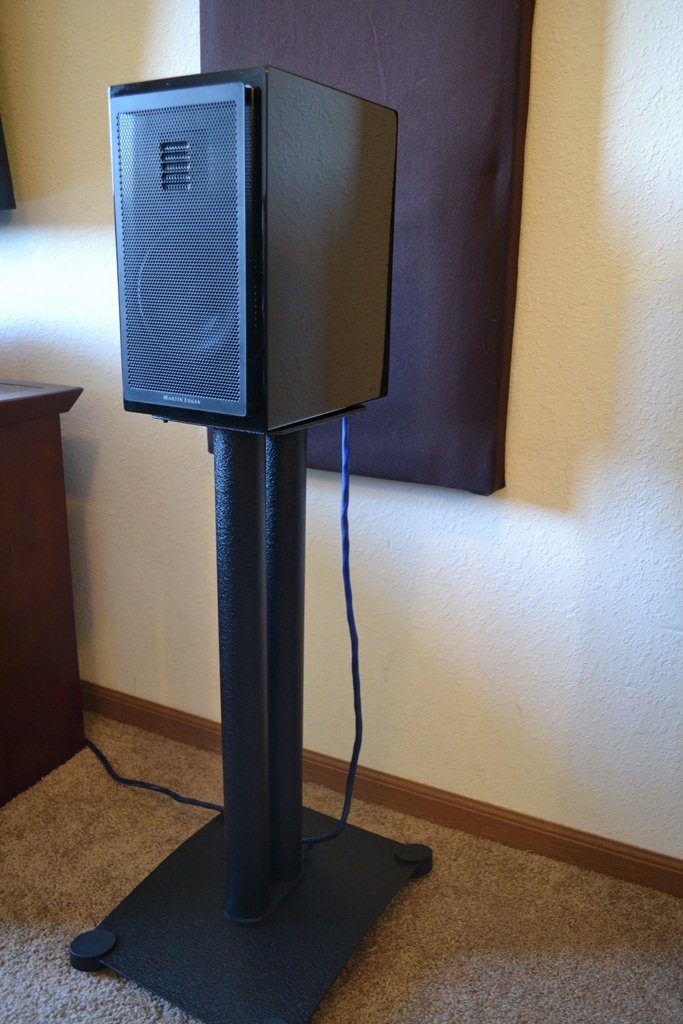 Sanus Steel Foundations Sf26 Speaker Stands Review Audioholics