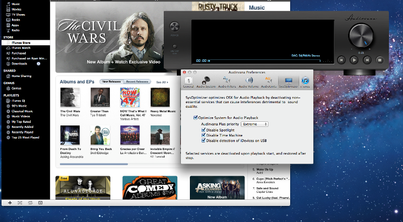 Hi-Res Music Playback Software Comparison: Page 2 | Audioholics