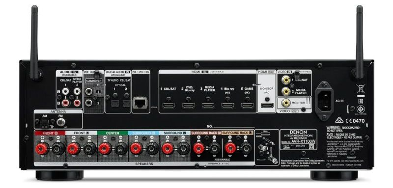 Best 500 Av Surround Receivers Compared Audioholics
