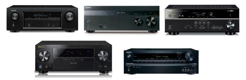 Best 500 Av Surround Receivers Compared Audioholics