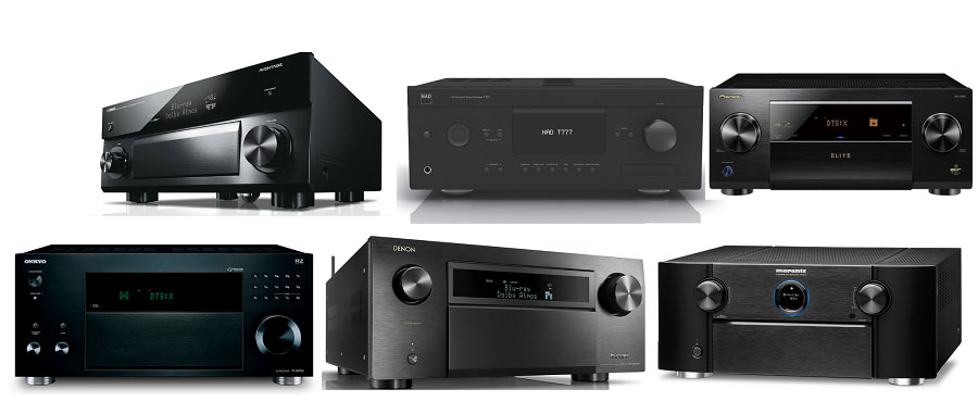 Best AV Receivers of 2018: 6 Flagship Models Compared