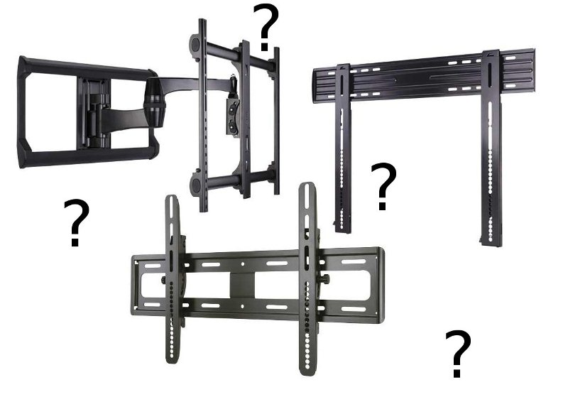How To Choose A Flat Panel Tv Wall Mount Audioholics