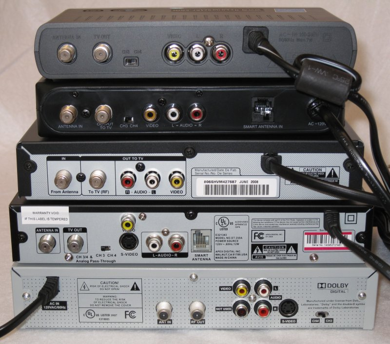Digital converter box comparison shootout audioholics top to bottom and left to right digital stream rca insigniazenith apex digital channel master fandeluxe Gallery