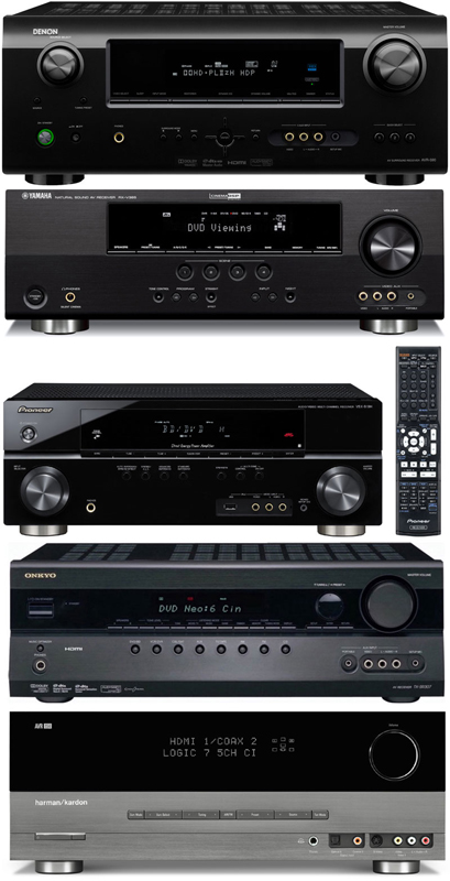 2009+Entry+Level+Receivers+Comparison+Guide