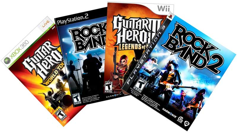 Rock Band & Guitar Hero Instrument Compatibility Guide