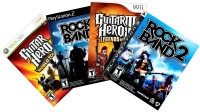 Rock Band & Guitar Hero Instruments