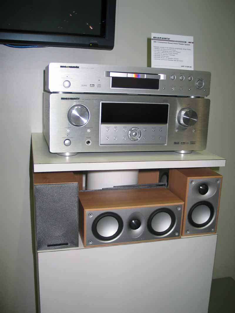Marantz BW-1 Component Based Home Theater System | Audioholics