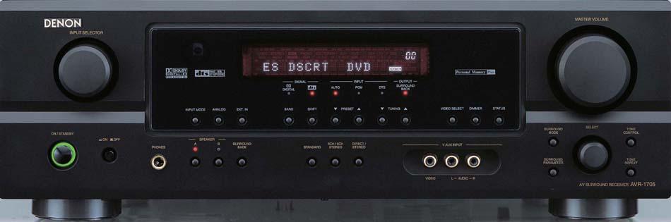 New Denon Receivers - AVR-2105, AVR-5805, AVR-2805, AVR-1905