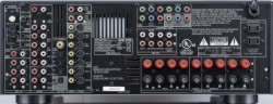 Denon AVR-2105 receiver rear panel