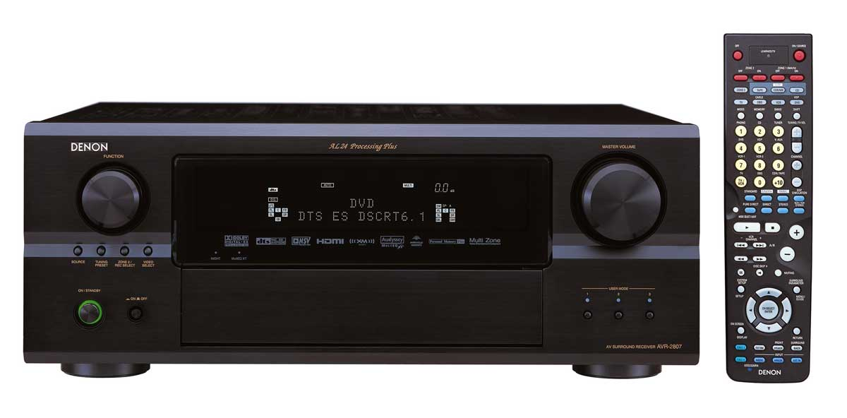 Denon Avr 2807 Receiver Audioholics