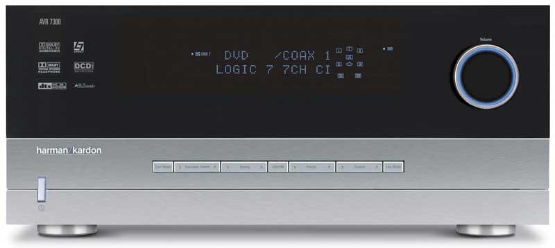 harman kardon avr 7300 receiver audioholics. Black Bedroom Furniture Sets. Home Design Ideas