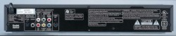 Denon DVD-1710 DVD player rear panel