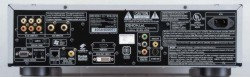 Denon DVD-3910 rear panel