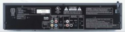 Denon DVM-1815 DVD Changer rear panel