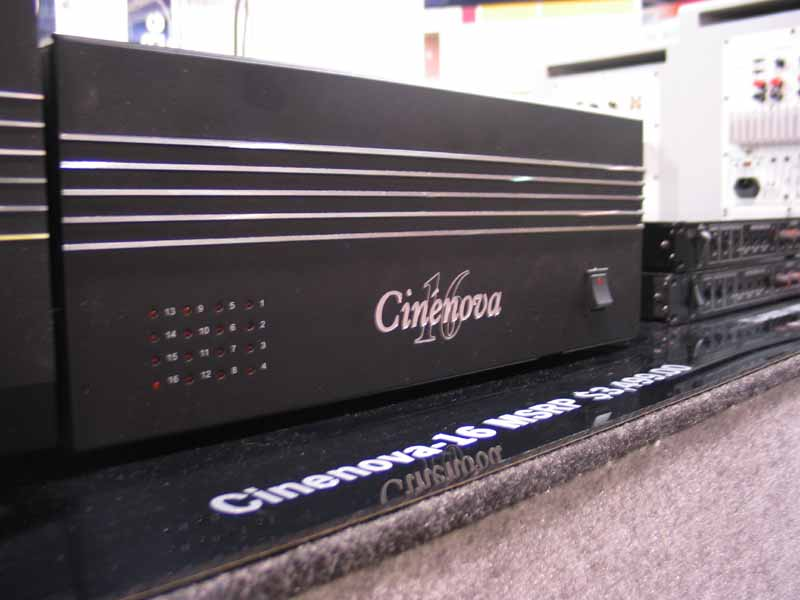 Earthquake 16-Channel Multi-Zone Amplifier | Audioholics