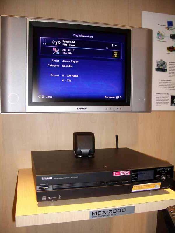 The MusicCAST MCX 2000 Music Server Sends Music To The Useru0027s Choice Of An  External Desktop Music Access Client, The MCX A10, ...