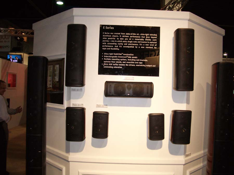 Boston Acoustics Flagship E100 Speaker Audioholics