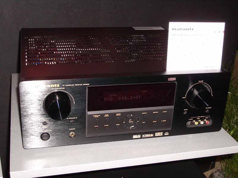 Marantz SR4600 5600 amp SR7500 8500 A V Receivers Audioholics
