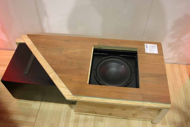 Polk Audio Csw100 Swa500 Built In Subwoofer System