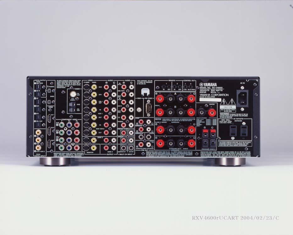 Yamaha Cs  Receiver
