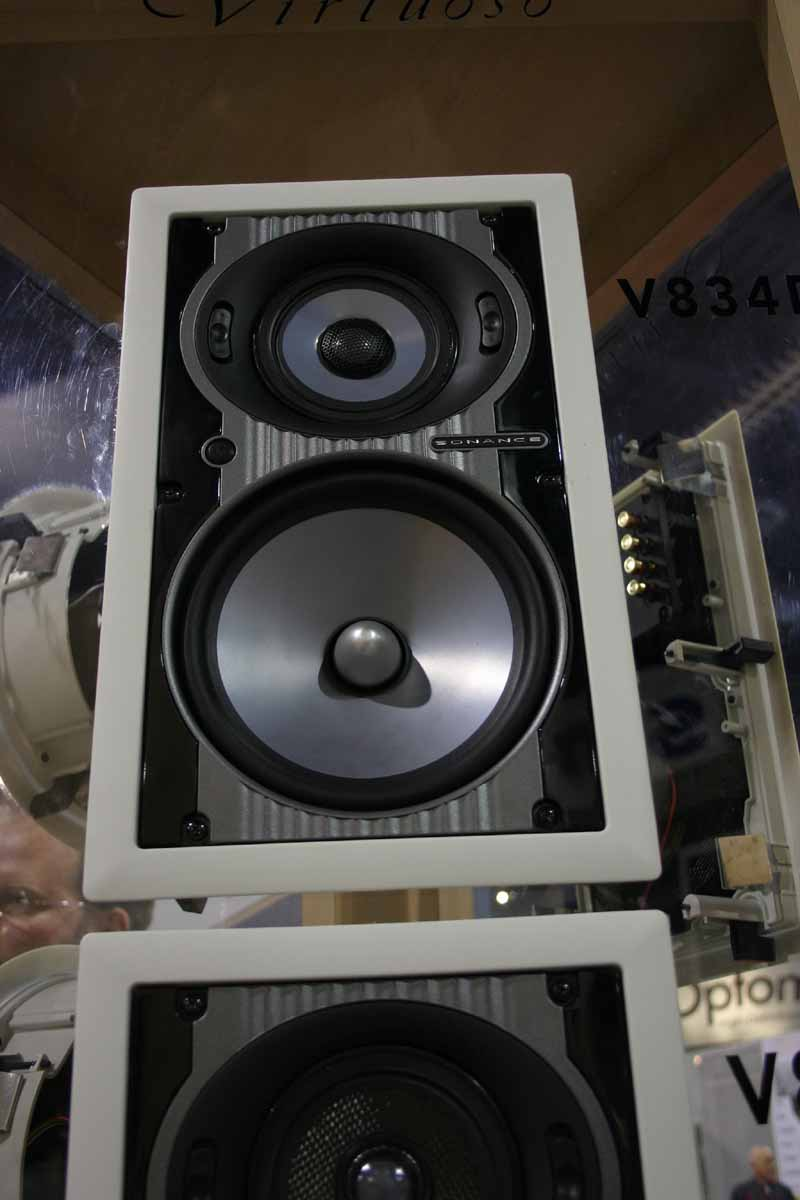 The Top Of Line Rectangular And Round Models V834d V834dr Respectively Feature Woofer Cones Midrange Tweeter Domes Made From