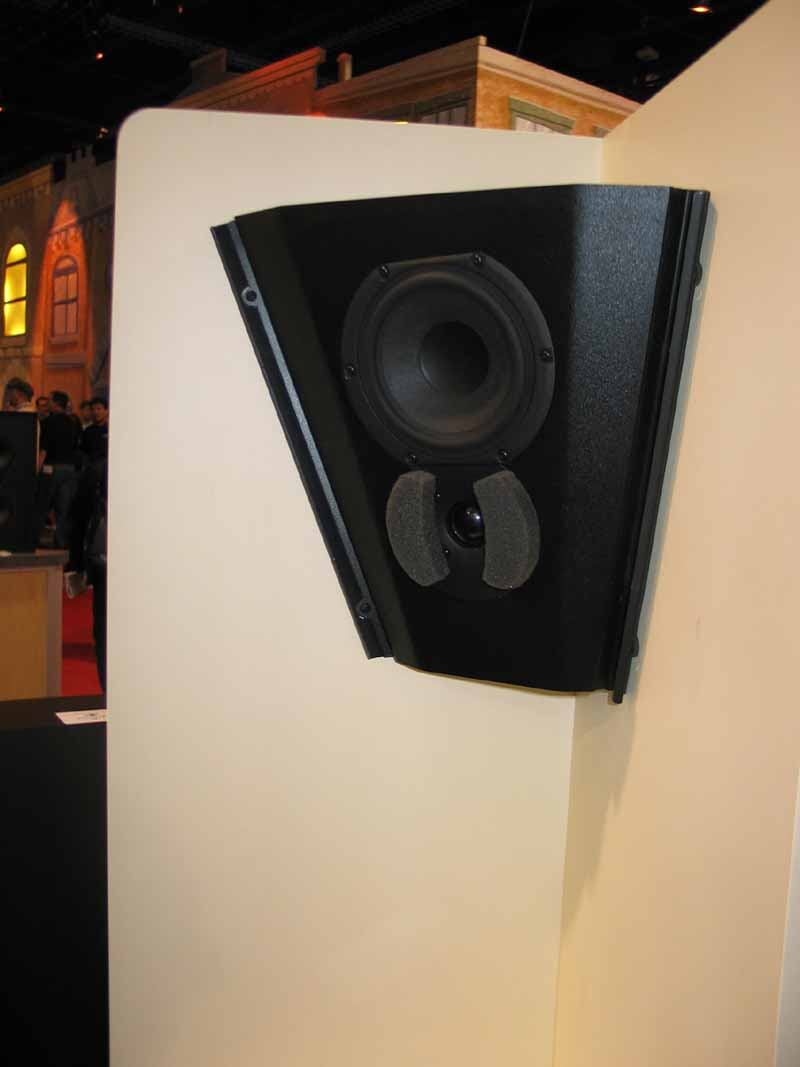 Triad Incorner Silver Omni Speakers Audioholics