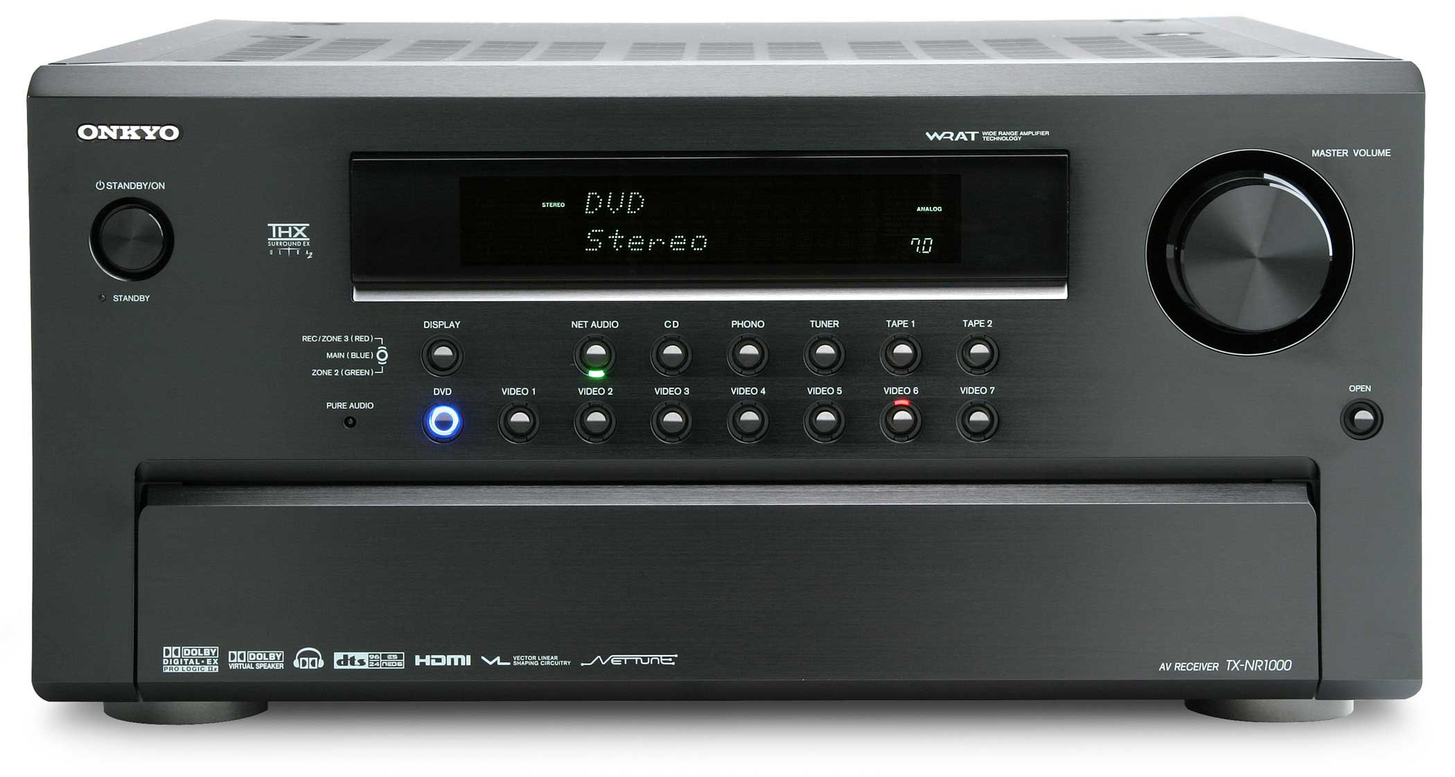 Onkyo Tx Nr1000 Thx Ultra2 Card Based Receiver Audioholics