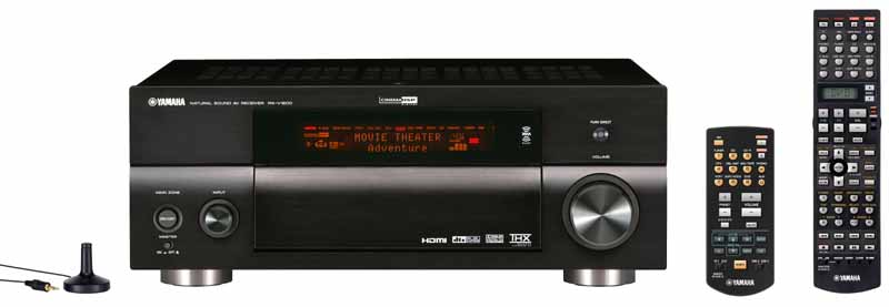 Yamaha rx v2600 and rx v1600 receivers audioholics for Yamaha multi room receiver