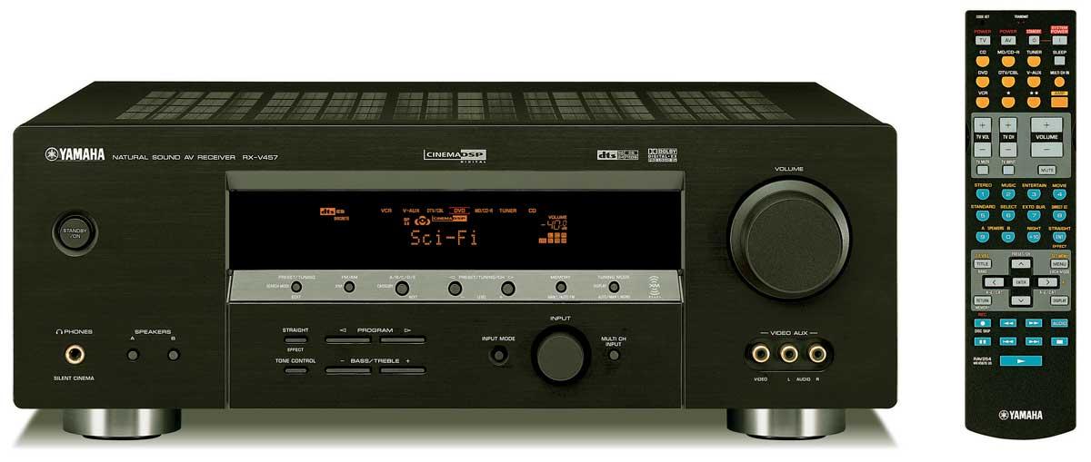 Yamaha launches 8 new xm ready receivers audioholics for Yamaha rx v450 av receiver price