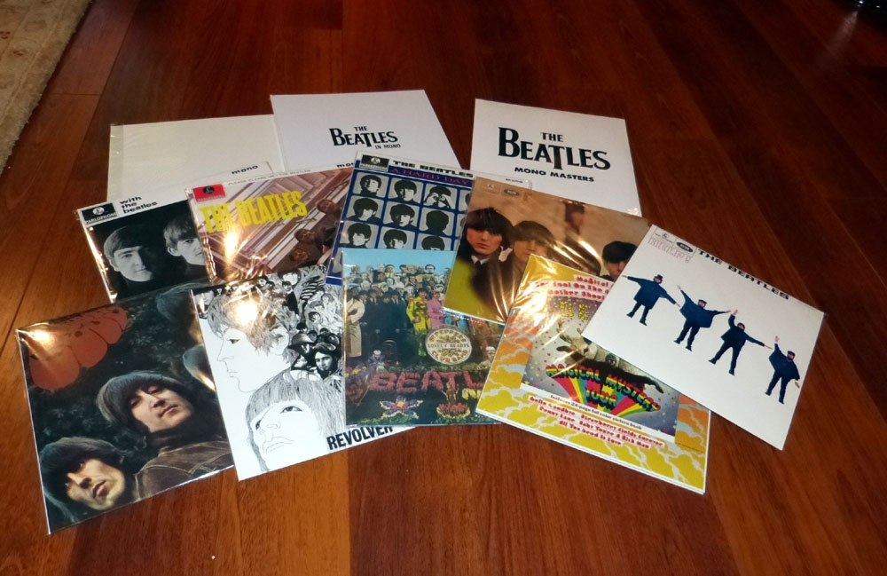 The Beatles in Mono Vinyl (180G) Box Set Review | Audioholics