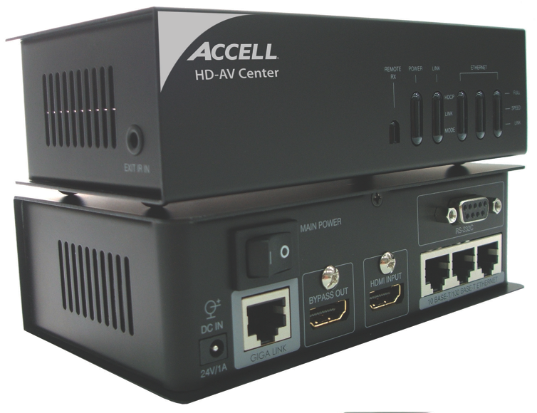 Accell+HD-AV+HDBaseT+Center+Preview