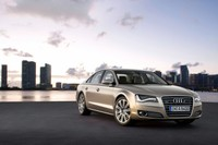 Audi A8 with Integrated Wi-Fi