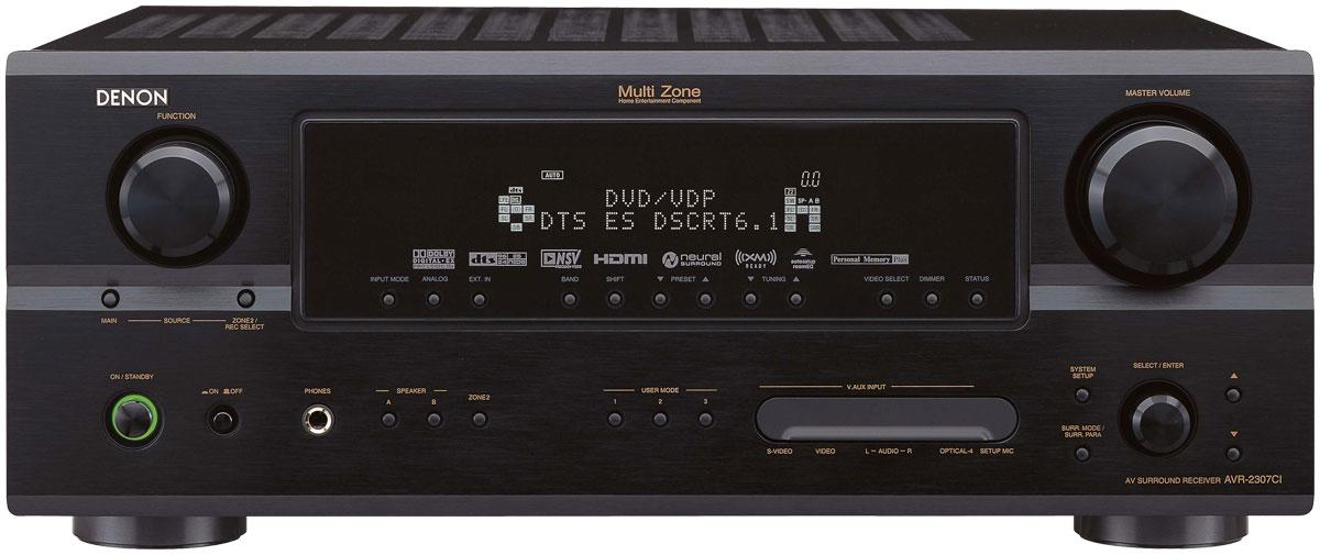 Denon AVR-2307CI Full Screen Image | Audioholics