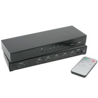 Impact Acoustics 1080p 5-Port HDMI Selector Switch