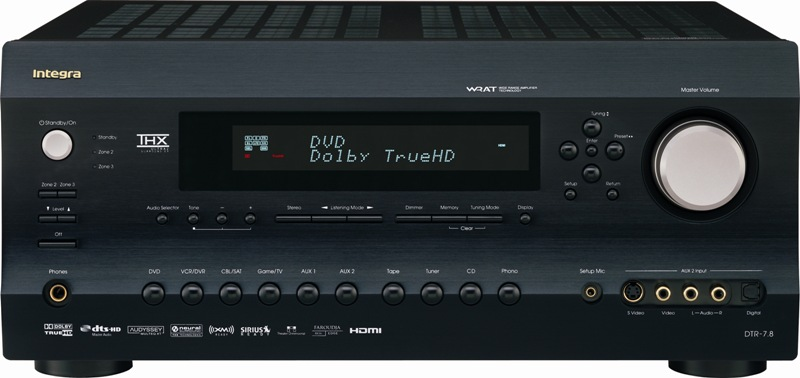 Integra+Debuts+DTR-7.8+THX+Ultra2+AV+Receiver+With+HDMI+1.3