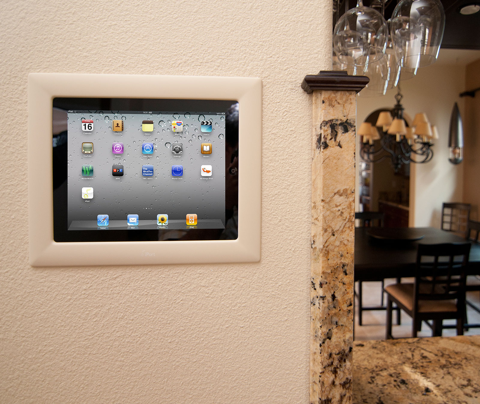 Iport Turns Apple Ipad Into In Wall Touchscreen Audioholics