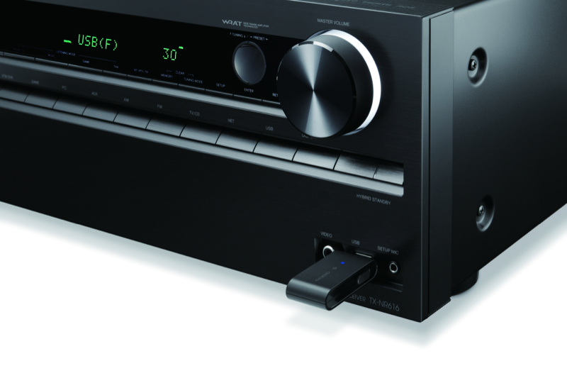 Onkyo+Music+Streaming+with+UBT-1+Bluetooth+USB+Adapter