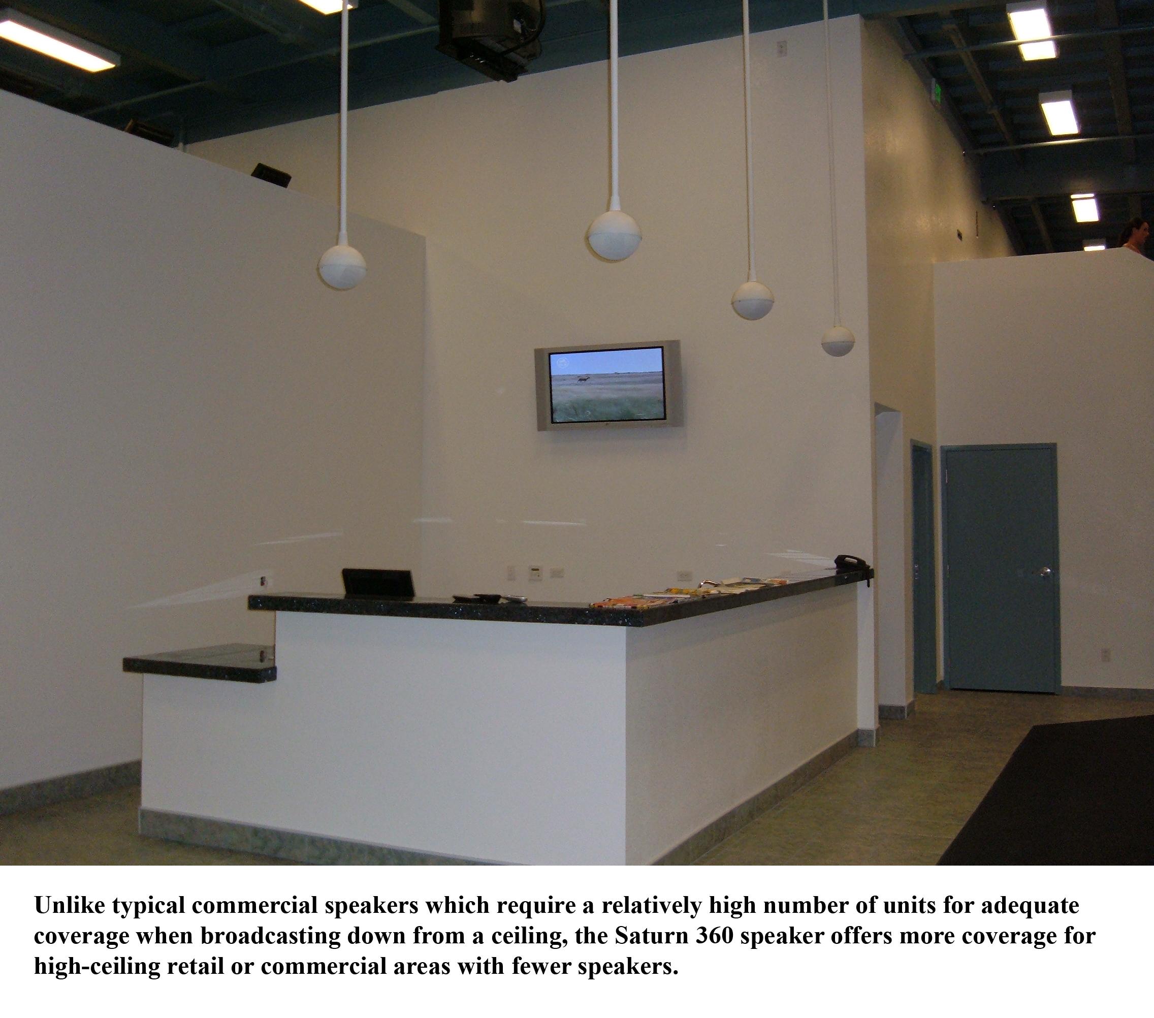 Owi intros saturn 360 degree weatherized speaker audioholics saturn 360 weatherized pendant speaker fandeluxe Choice Image