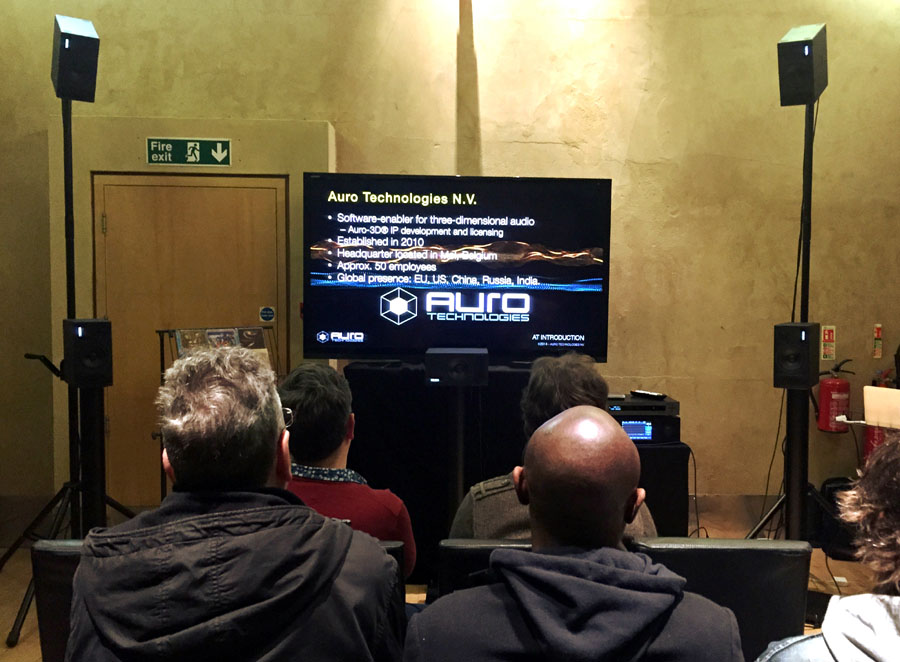 Pmc Speakers And Auro 3d Demo Immersive Surround For Uk