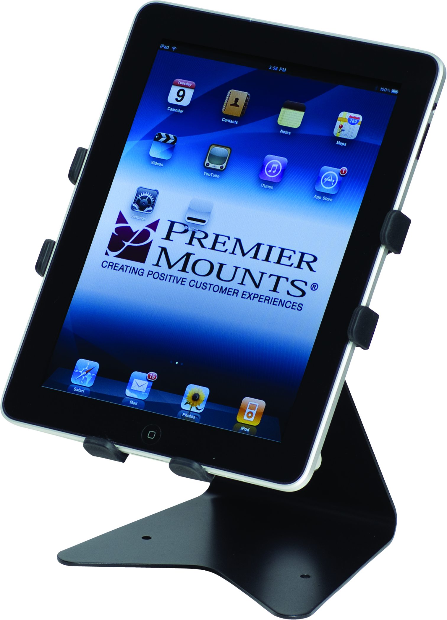 Premier+Mounts+Releases+IPM-300+Flexible+iPad+Mount